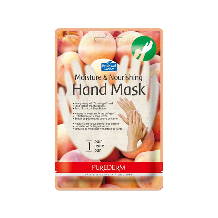 29. ADS610 Moisture&Nourishing Hand Mask PEACH-min