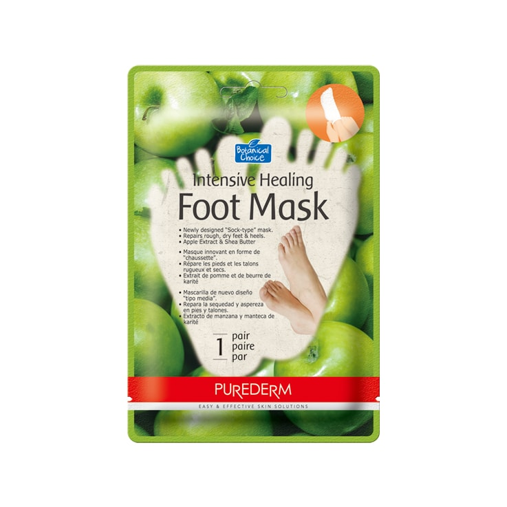 30. ADS611 Intensive Healing Foot mask APPLE-min
