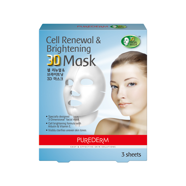 9. ADS299 Cell Renewal & Whitening 3D Mask