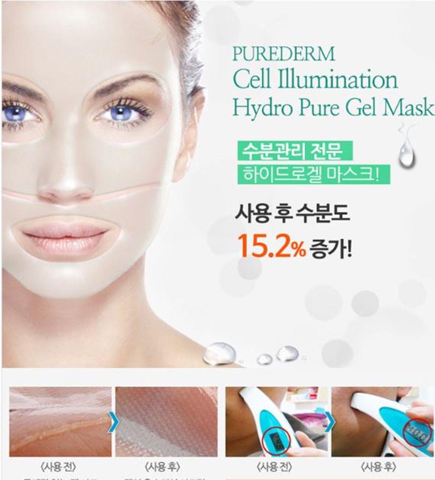 Purederm Cell Illuminating Hydro Pure Gel Mask Alomonbsclv Eye 410