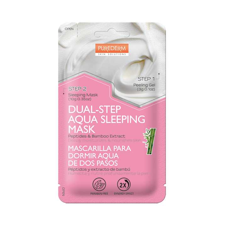 72. ADS 495 Dual-step Aqua Sleeping Mask Peptides&Bamboo